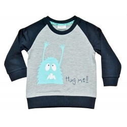 Sweater baby pojk - Monster